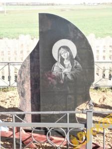 Гравировка иконы на памятник
