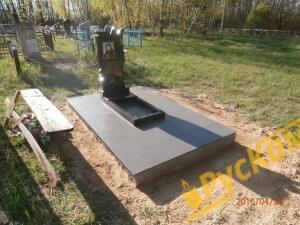 фундамент из бессерных блоков + плитка грэс